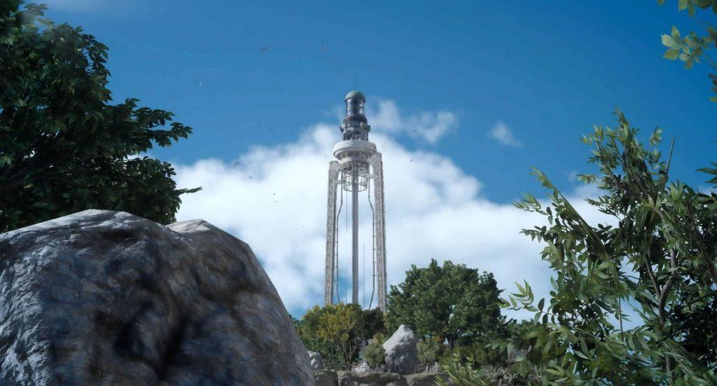 クレイン地方の拠点「カエムの岬」のイメージ画像です。