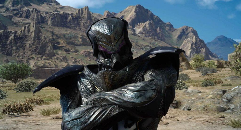 FF15の無敵スーツ『魔導インビンシブル』のイメージ画像です。