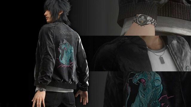 FF15の衣装(コスチューム)一覧のイメージ画像です。