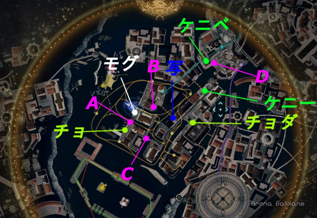 モグチョコカーニバルの小ネタの全体マップです。