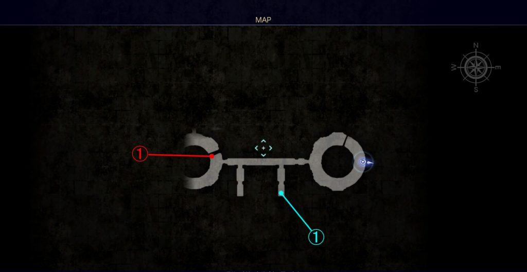 ダンジョン「コースタルマークタワー」のマップ④です。
