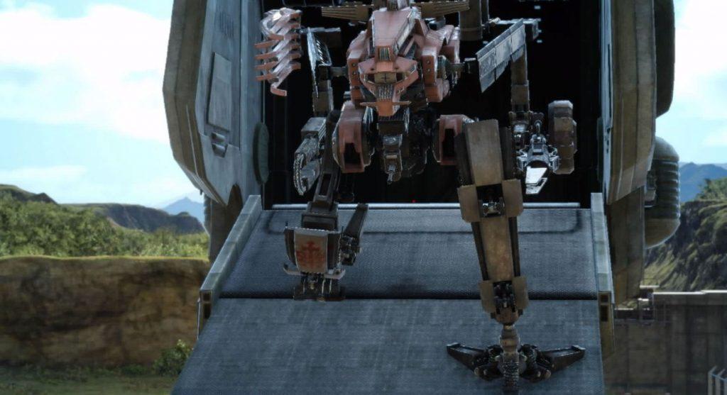 FF15のCHAPTER 02『再起』ロキのキュイラスのイメージ画像です。