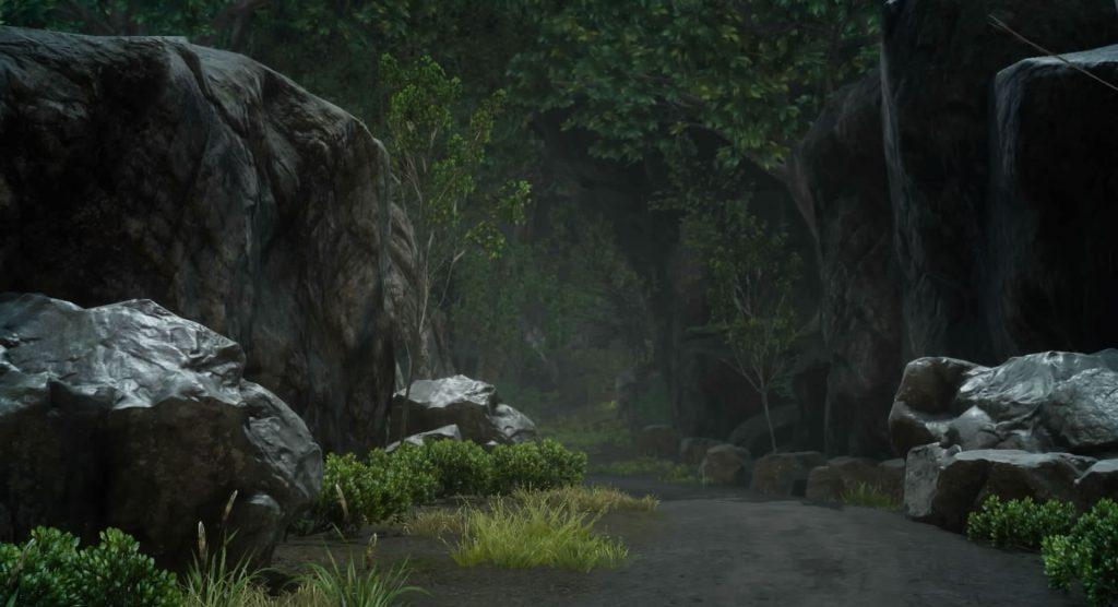 ダンジョン「マルマレームの森」のイメージ画像です。