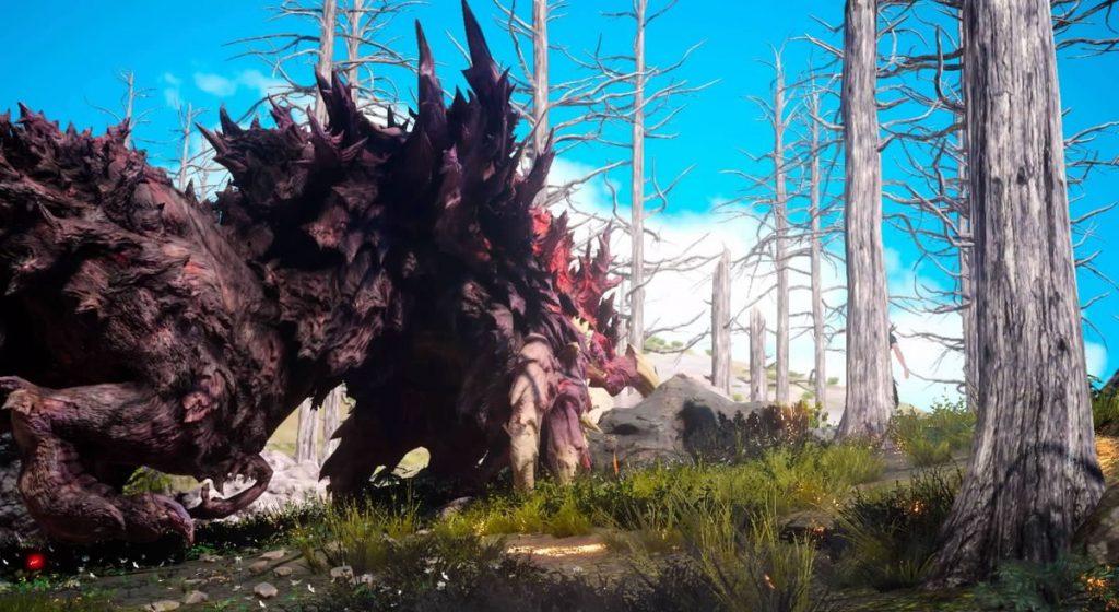 FF15のサブクエスト『探索 マルマレームの森』で出現するバンダースナッチのイメージ画像です。