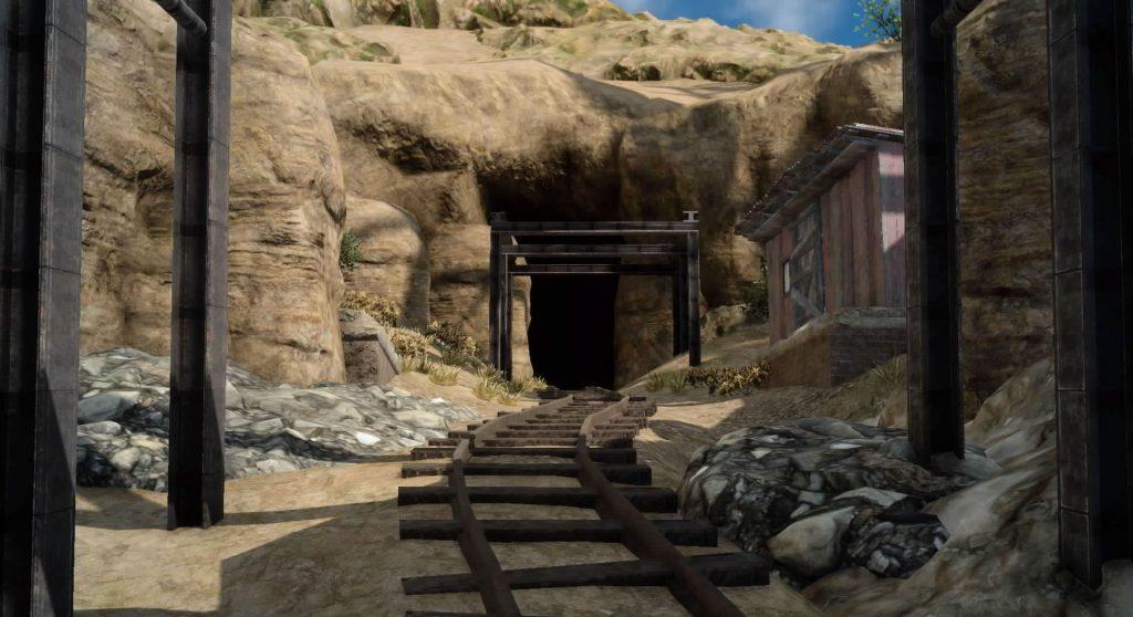 ダンジョン「バルーバ採掘場」のイメージ画像です。