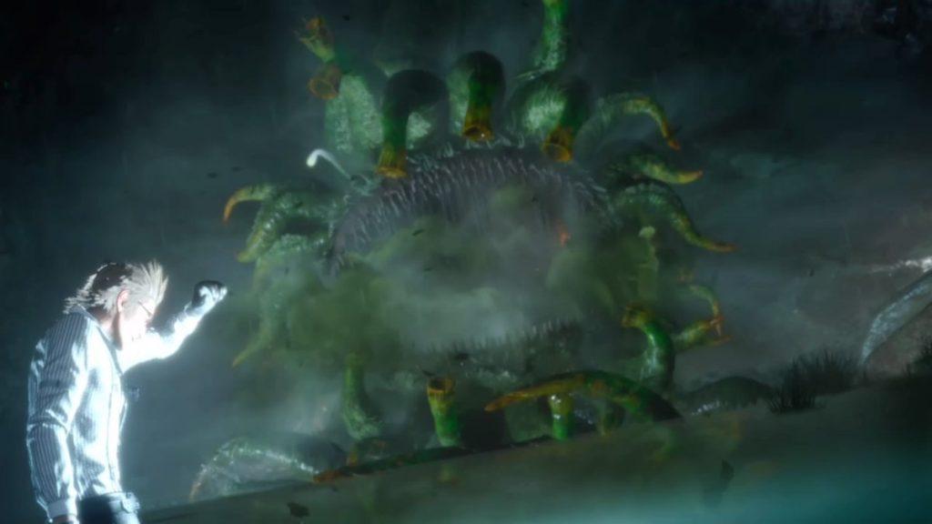 FF15のメインクエストであるCHAPTER 10『王たるもの』のボス『モルボル』のイメージ画像です。