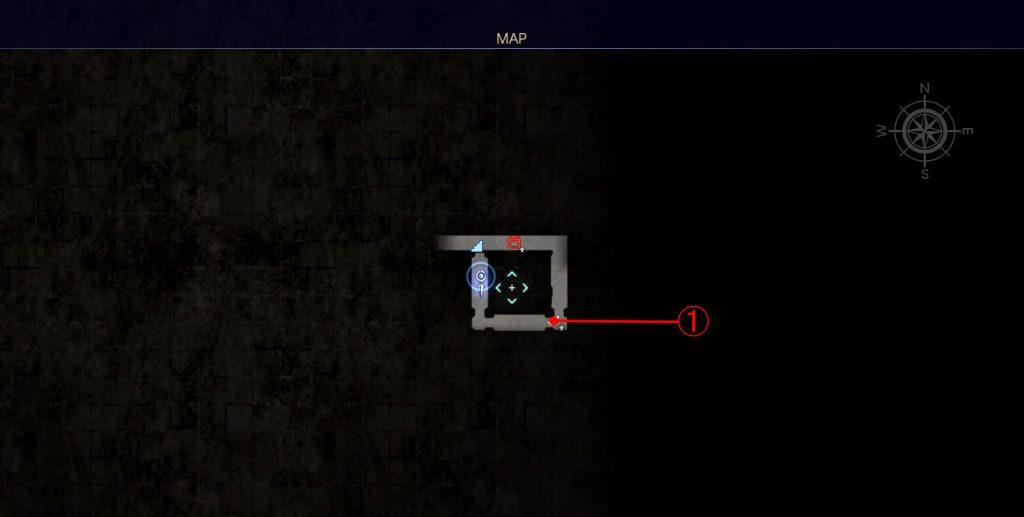 ダンジョン「コースタルマークタワー」のマップ②です。