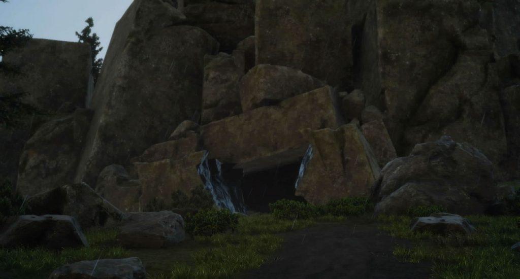 ダンジョン「フォッシオ洞窟」のイメージ画像です。
