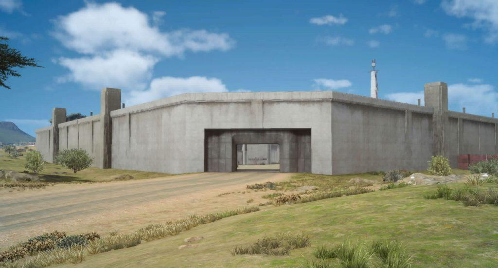 アラケオル基地、フムース基地、ヴォラレ基地のイメージ画像です。