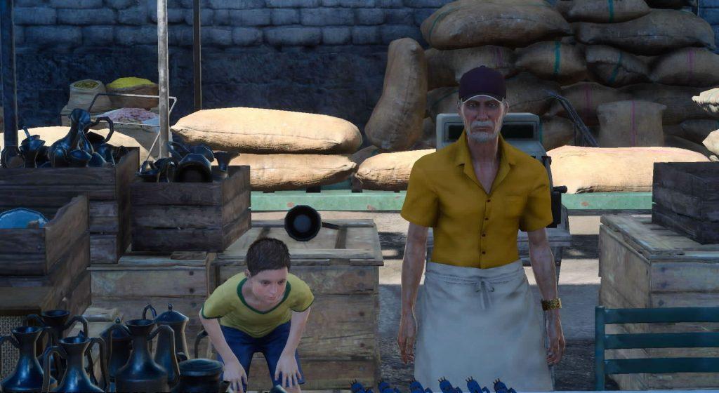 FF15のビーヌンス商店から受注可能なサブクエスト『入荷を阻む古い罠』のイメージ画像です。