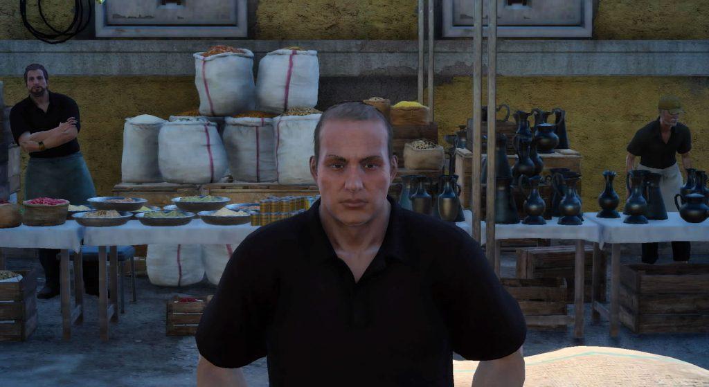 FF15のフルオク農場から受注可能なサブクエスト『採れたて野菜ハンター』のイメージ画像です。