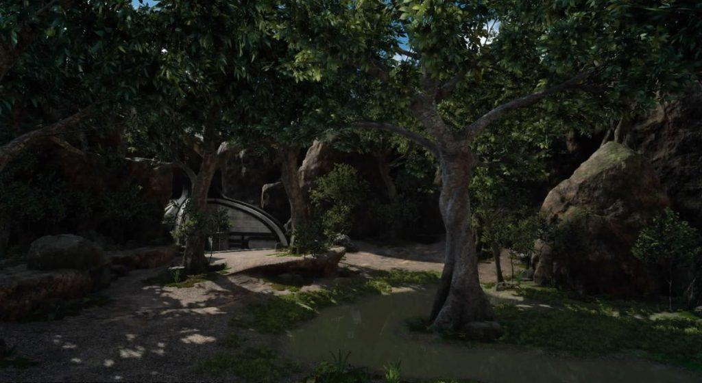 FF15のサブクエスト『探索 メルロの森』のイメージ画像です。