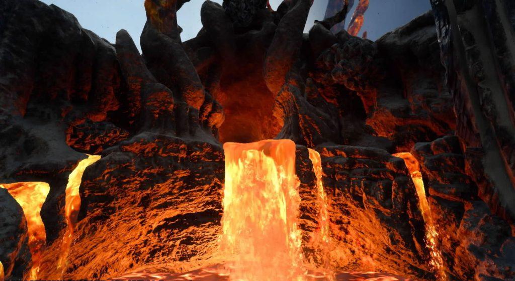 FF15のサブクエスト『探索 ラバティオ火山』のイメージ画像です。