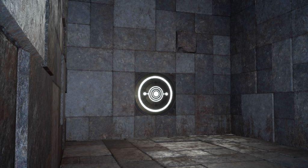 FF15のダンジョン「プティウォス遺跡」のイメージ画像です。