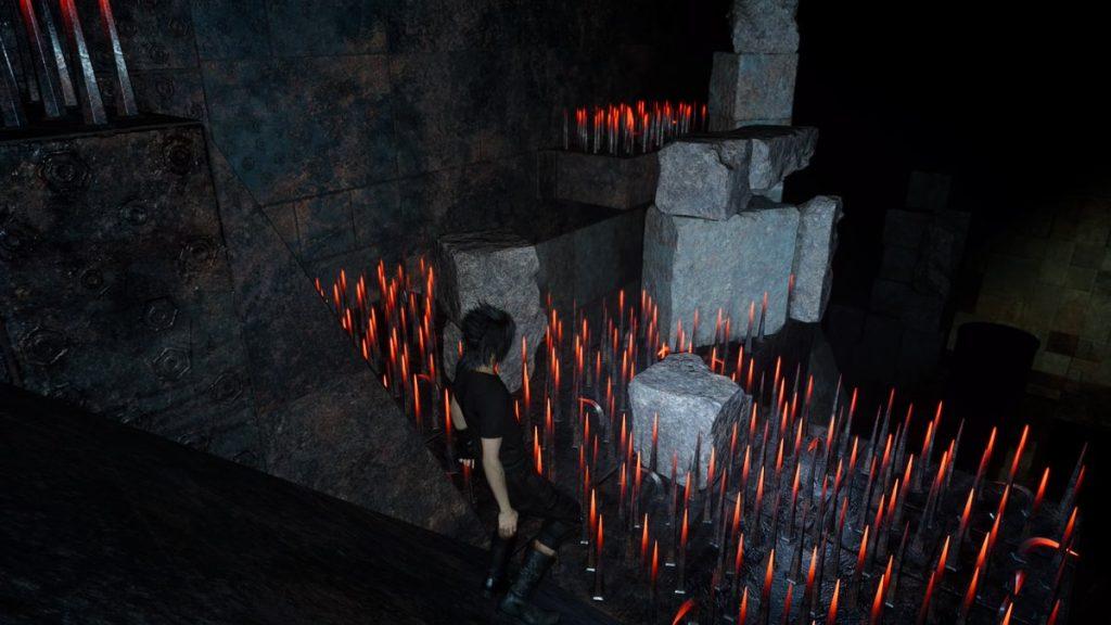 FF15のダンジョン「プティウォス遺跡」の入手アイテム一覧(最終エリア)のイメージ画像です。