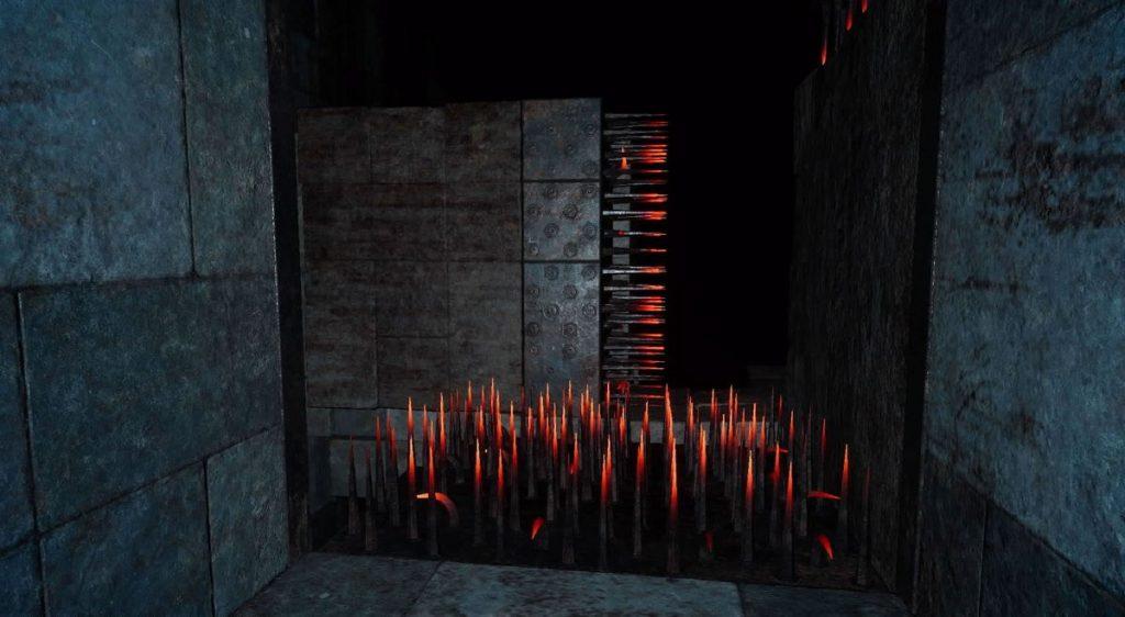 FF15のダンジョン「プティウォス遺跡」攻略(球体とトゲエリア)のイメージ画像です。