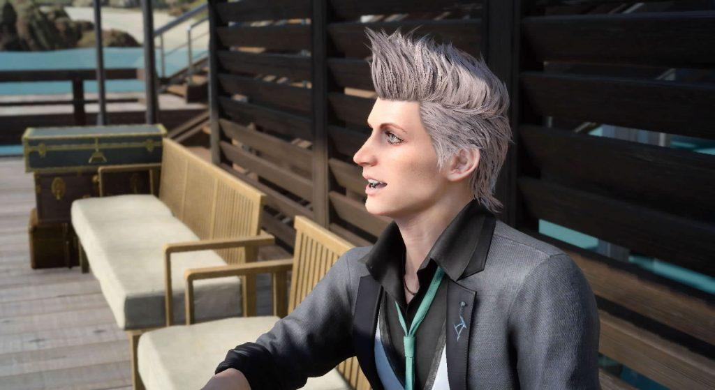 FF15のディーノから受注可能なサブクエスト『新進気鋭の彫金師』のイメージ画像です。