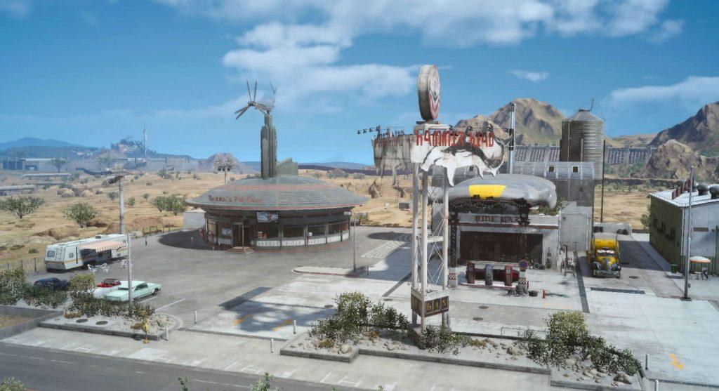FF15の『討伐依頼(モブハント)』のハンマーヘッドのイメージ画像です。