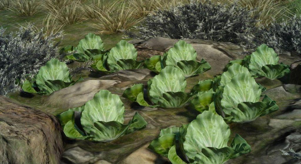 FF15にて入手できる『食材』一覧のイメージ画像です。
