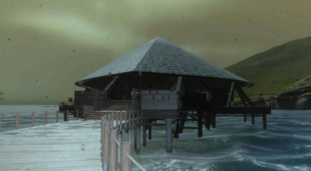 FF15の『ガーディナ渡船場跡』にて入手できるドロップアイテム一覧のイメージ画像です。