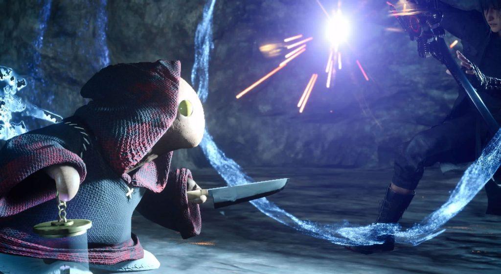 FF15のオルティシエにて受注可能な『討伐依頼(モブハント)』のイメージ画像です。