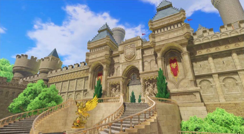 ドラゴンクエスト11の『デルカダール地方』~『デルカダール城』までのフィールドマップとアイテム一覧表のイメージ画像です。