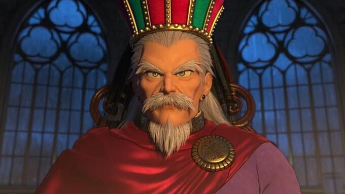 ドラゴンクエスト11の登場キャラクター『デルカダール王』の画像です。