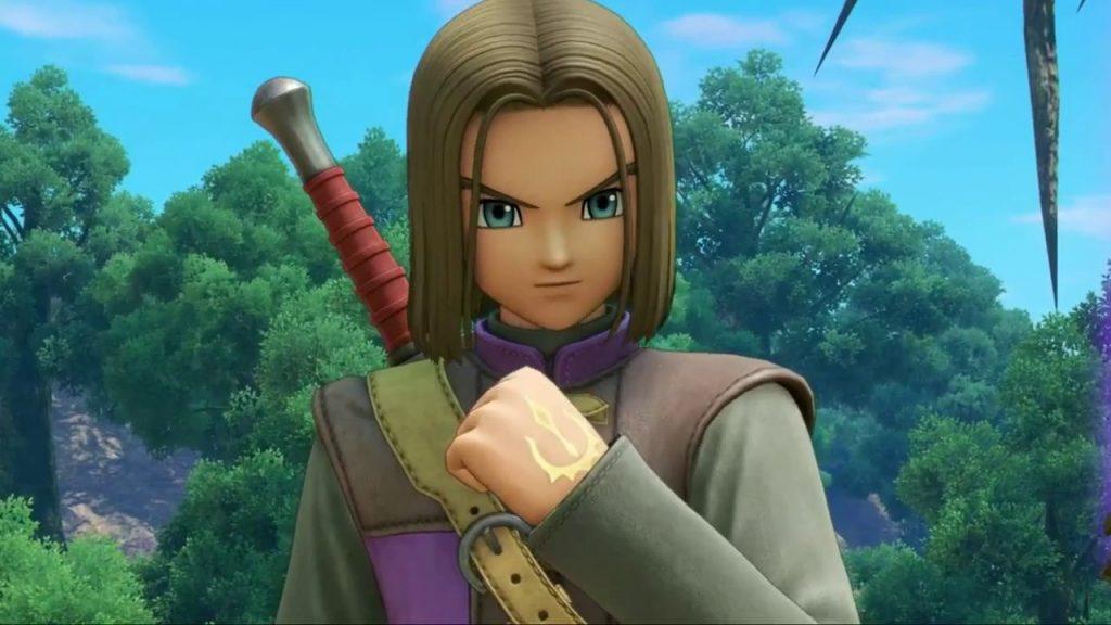 ドラゴンクエスト11の登場キャラクター『主人公』の画像です。