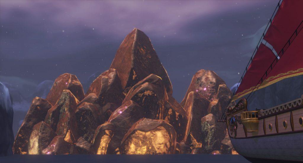 ドラゴンクエスト11の『グロッタの町(スペシャルルーレットステージ)』~『黄金城』までのイメージ画像です。