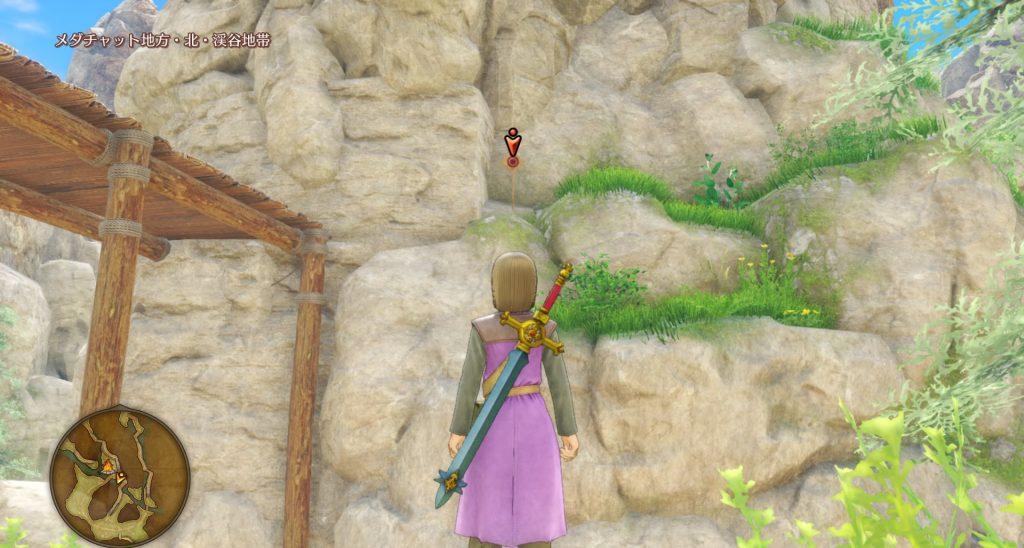 ドラゴンクエスト11のミニゲーム『ボウガンアドベンチャー』の『メダチャット地方』のマト③です。
