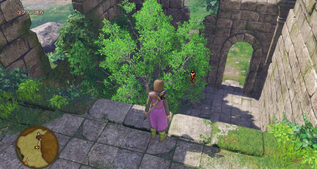 ドラゴンクエスト11のミニゲーム『ボウガンアドベンチャー』のユグノア地方のマト③です。