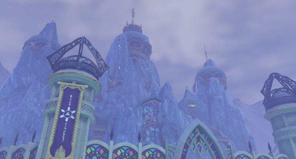 ドラゴンクエスト11の『シケスビア雪原』~『クレイモラン城』までのフィールドマップとアイテム一覧表のイメージ画像です。