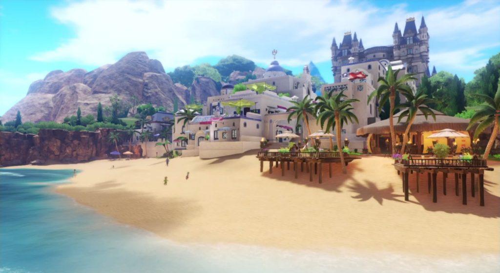 ドラゴンクエスト11の『ソルティアナ海岸』~『白の入り江』までのフィールドマップとアイテム一覧表のイメージ画像です。