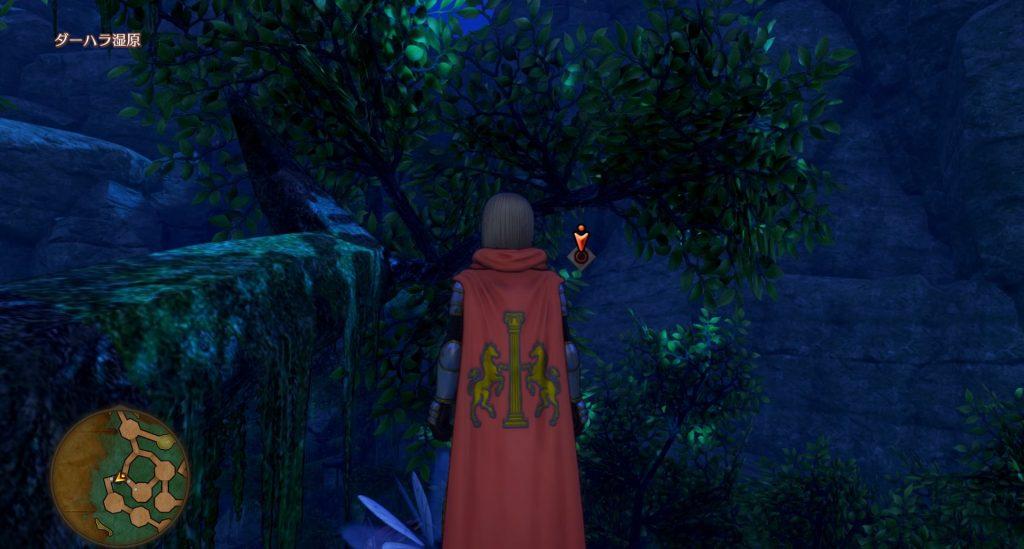 ドラゴンクエスト11のミニゲーム『ボウガンアドベンチャー』の『ダーハラ湿原』のマト③です。