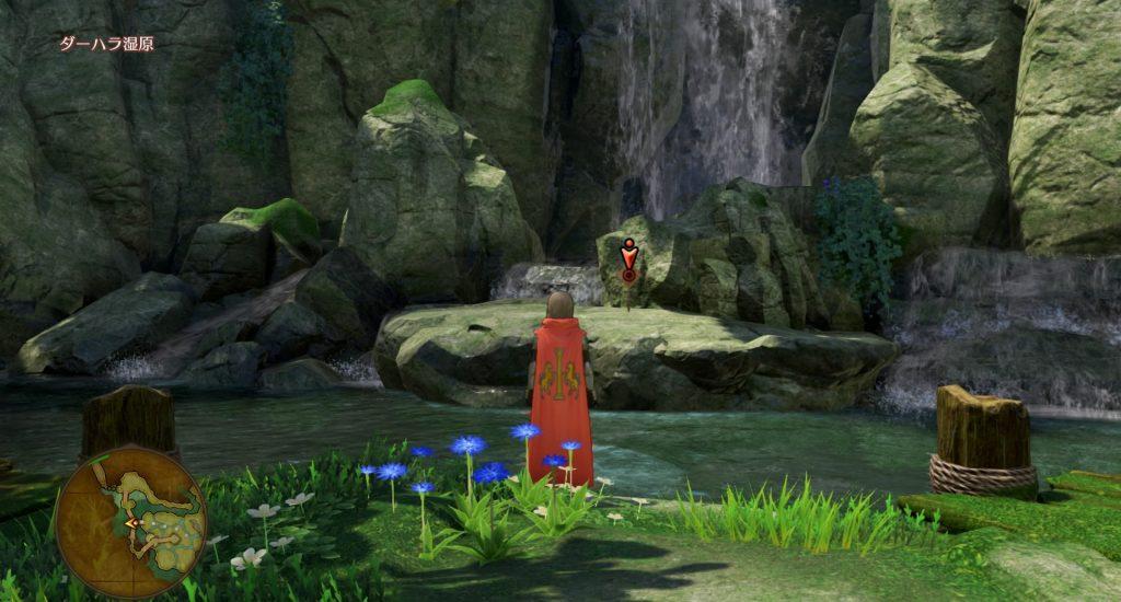 ドラゴンクエスト11のミニゲーム『ボウガンアドベンチャー』の『ダーハラ湿原』のマト⑤です。