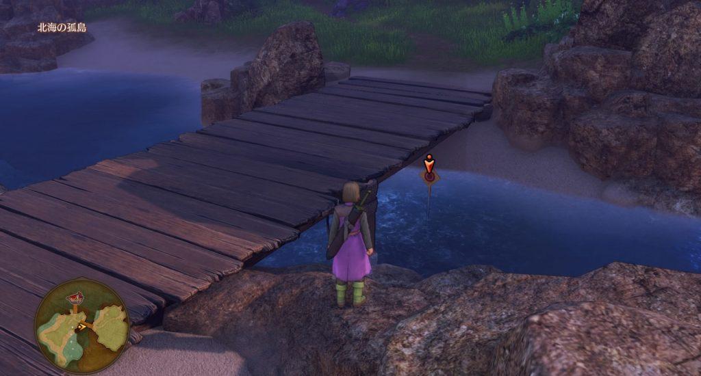 ドラゴンクエスト11のミニゲーム『ボウガンアドベンチャー』の『北海の孤島』のマトです。