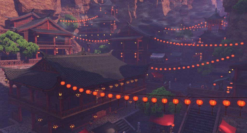 ドラゴンクエスト11の『プチャラオ村』~『クレイモラン地方』のイメージ画像です。