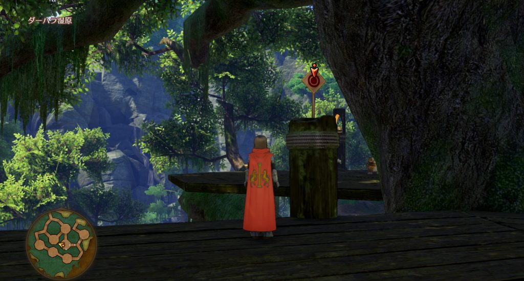 ドラゴンクエスト11のミニゲーム『ボウガンアドベンチャー』の『ダーハラ湿原』のマト②です。