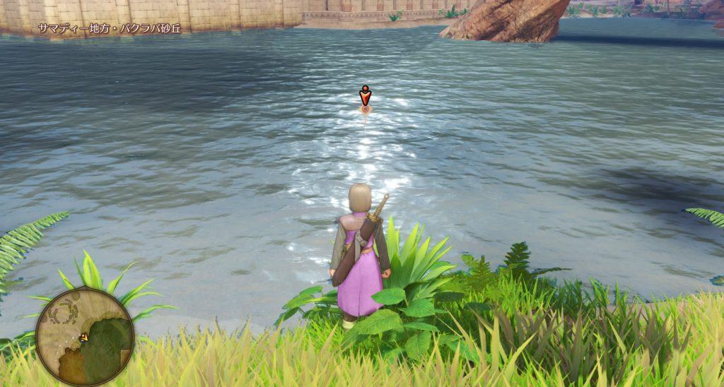 ドラゴンクエスト11のミニゲーム『ボウガンアドベンチャー』の『サマディー地方』のマト⑤です。
