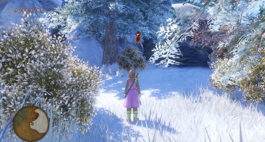 ドラゴンクエスト11のミニゲーム『ボウガンアドベンチャー』の『クレイモラン地方』のマト④です。
