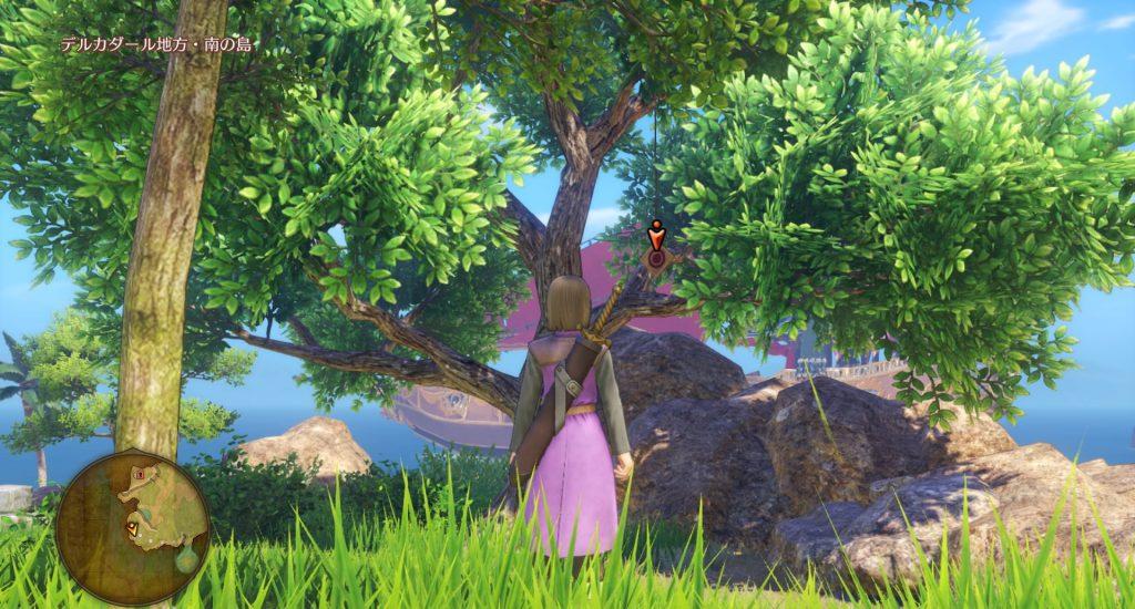 ドラゴンクエスト11のミニゲーム『ボウガンアドベンチャー』の『デルカダール地方・南の島』のマトです。