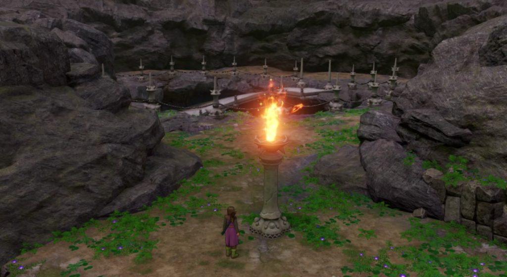 ドラゴンクエスト11の『天空の古戦場』のダンジョンマップとアイテム一覧のイメージ画像です。