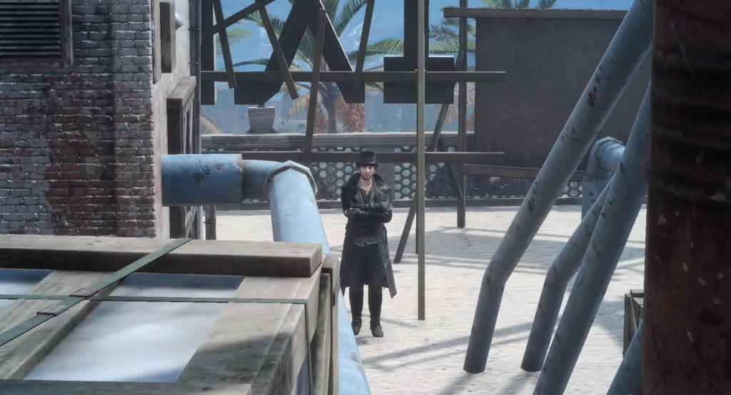 FF15の無料DLC『アサシンズ・フェスティバル』のサブクエスト『アサシンフォトチャレンジ5』のイメージ画像です。