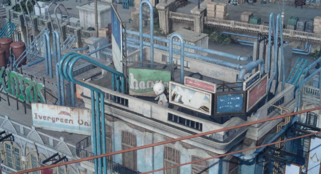 FF15の無料DLC『アサシンズ・フェスティバル』のサブクエスト『アサシンフォトチャレンジ9』のイメージ画像です。