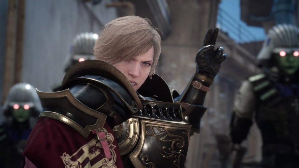 FF15の無料DLC『アサシンズ・フェスティバル』のメインクエスト(ロキ)のイメージ画像です。