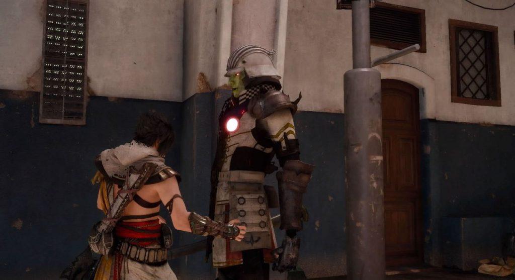 FF15の無料DLC『アサシンズ・フェスティバル』のサブクエスト『闇の取引』のイメージ画像です。
