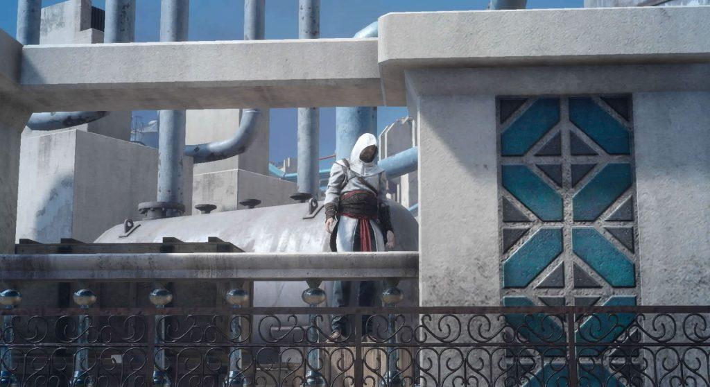 FF15の無料DLC『アサシンズ・フェスティバル』のサブクエスト『アサシンフォトチャレンジ3』のイメージ画像です。