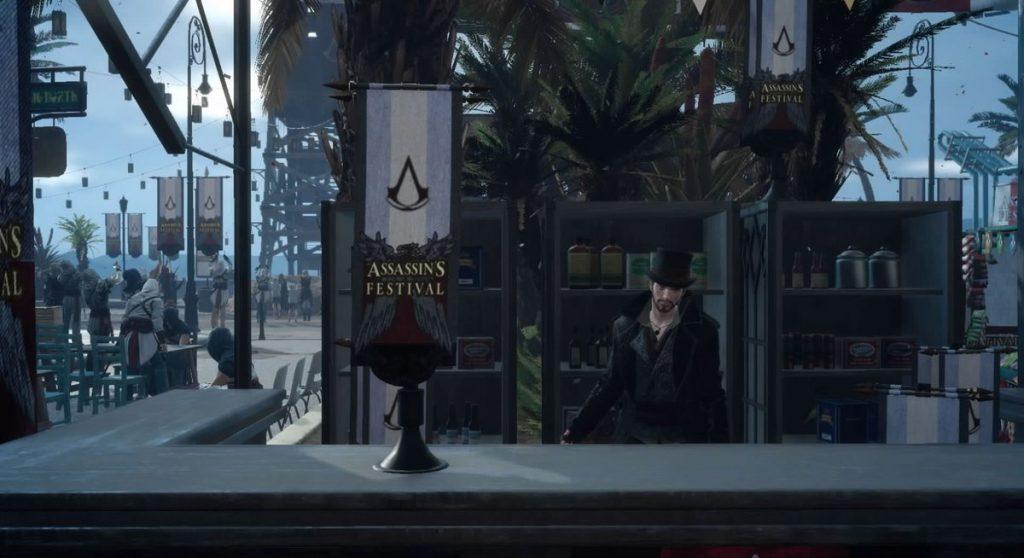FF15の無料DLC『アサシンズ・フェスティバル』のサブクエスト『真実の旗集め』のイメージ画像です。
