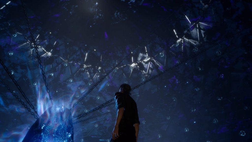 FF15のDLC『エピソードイグニス』のエクストラチャプター『真の王がたどる運命』のイメージ画像です。