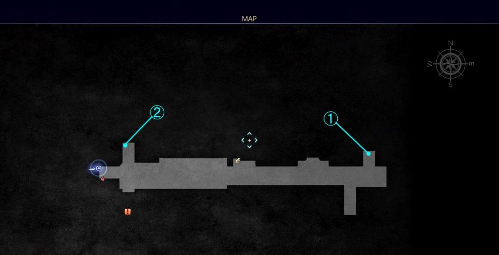 FF15のDLC『FFXVロイヤルパック』の王都インソムニアの新規マップの『地下道』です。
